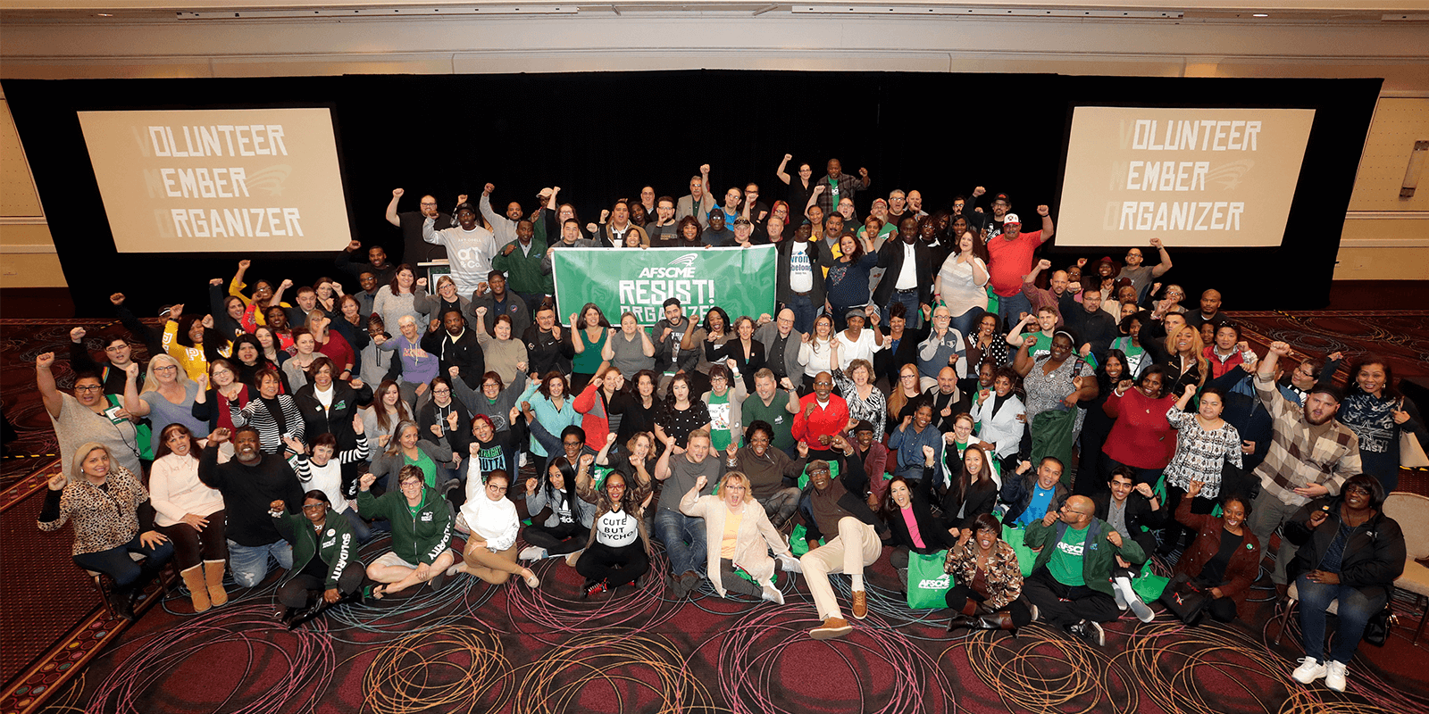 AFSCME members at the Rise Up! Conference in Las Vegas